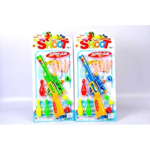 Пушка с кегли и меки стрели F186105