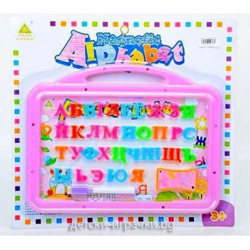 Дъска за писане с маркер и магнитни букви I139175