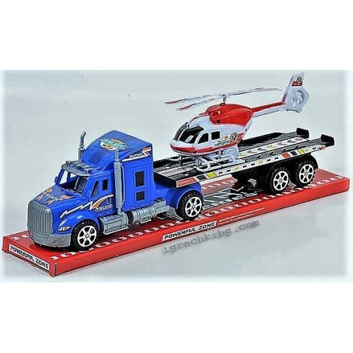 Автовоз с хеликоптер J929536
