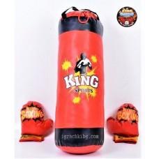Боксова круша с ръкавици J338443