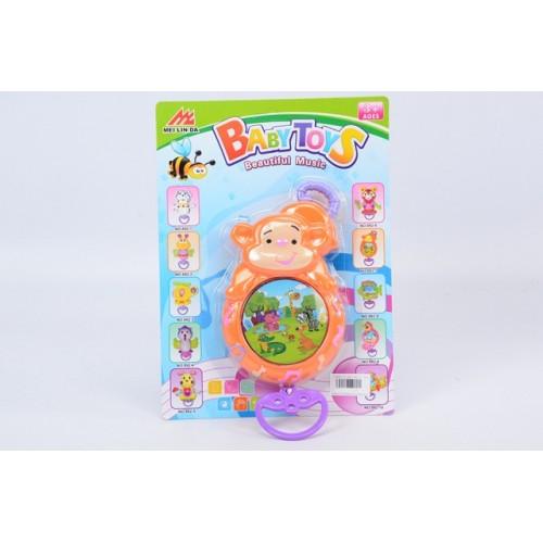 Бебешка музикална кутия Маймунка F536025