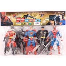 Комплект супергерои - Спайдърмен , Супермен , Зоро 4423266