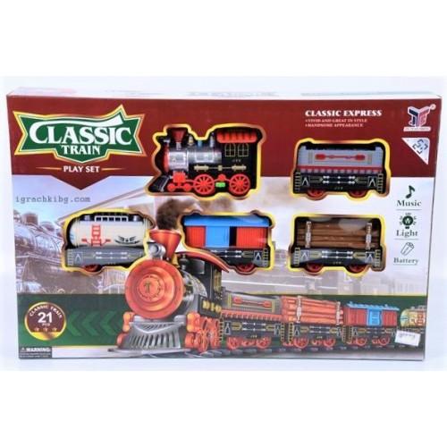 Влак с релси H724455