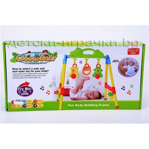 Активна гимнастика за бебе - бебешки фитнес I117341