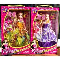 Кукла тип Барби с две рокли L231134