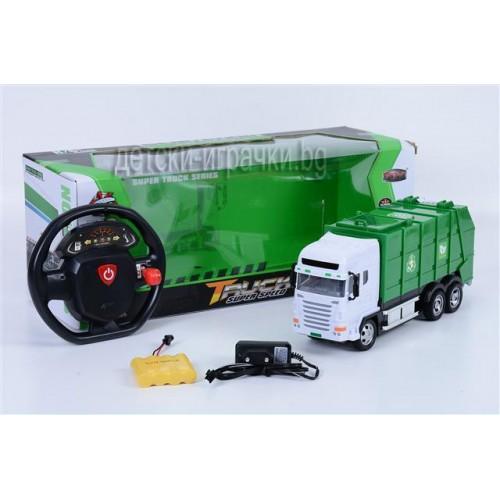 Камион за боклук с дистанционно управление H701244