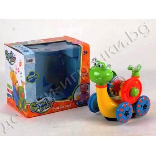 Музикална играчка охлюв D494294