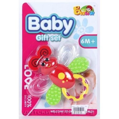 Бебешка дрънкалка D612329