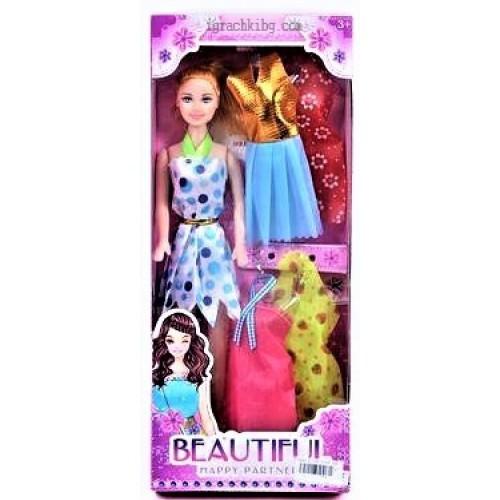 Кукла тип Барби с дрехи K622284