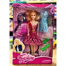 Кукла тип Барби с дрехи D540572